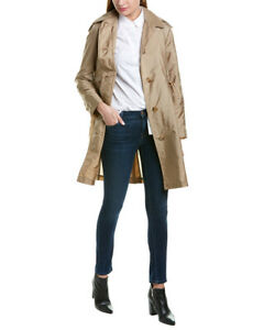 Burberry-Detachable-Hood-Taffeta-Trench-Coat-Women-039-s