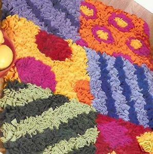 cool rugs made easy leisure arts latch hook rug pattern la3697 see pics new ebay. Black Bedroom Furniture Sets. Home Design Ideas