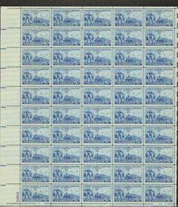 1007 American Automobile MNH Sheet CV $11.50