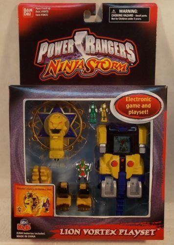 Power Rangers Ninja Storm - Lion Vortex Mini Playset & Electronic Game (MISB)