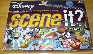 Disney-Scene-It-1st-Edition-Disney-Pixar-Family-DVD-Game-100-COMPLETE-EXCELLENT