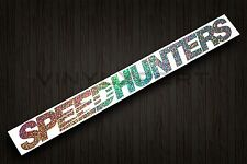 "Speedhunters sticker illest decal canibeat fatlace Drift jdm 40"" X 4"" Glitter"