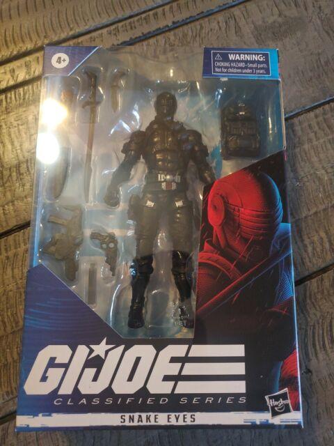 "Hasbro GI Joe Classified Series Snake Eyes 6"" Action Figure New In Package"