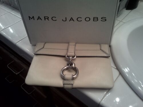 Worn Mini Beautiful Marc Jacobs Leather Gently Cream Steal ClutchAwesome lJTF13Kc