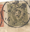 thumbnail 2 - RARE CHINA MARTYR STAMPS WITH UNILINGUAL CANCELS ON PARTIAL COVER TO LOS ANGELES