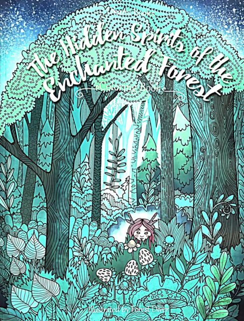 Keepers Of The Enchanted Forest Coloring Book For Adults Paperback For Sale  Online EBay
