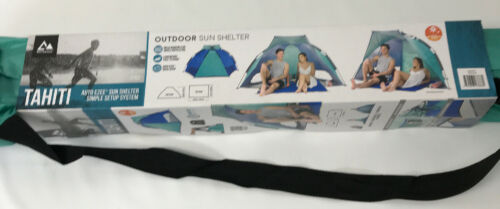 Auto Ezee shelter New Sun Shelter Tahiti Outdoor Beach Canopy SlumberTrek  UV50