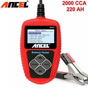 Tester-Analizador-Baterias-12V-Coche-Auto-ANCEL-BA101-Digital-2000CCA-220Ah