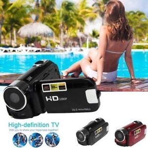 1080P FULL HD Kamera Camcorder Digital Videokamera LCD 4x Zoom DV CAMERA SD