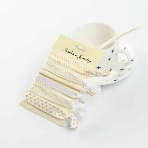 Wholesale 100PCS Women Elastic Rubber Hair Ties Band Rope Ponytail Holder YK