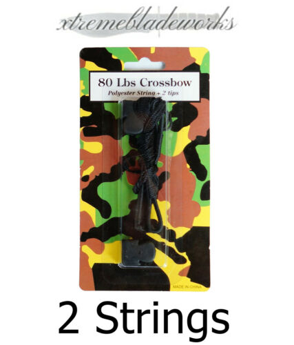 2 Pack of 80lb Crossbow Replacement Strings