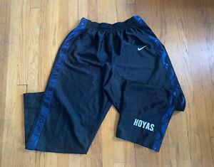 Vintage-90-s-Georgetown-Hoyas-Allen-Iverson-Nike-Breakaway-Warmup-Pants-XL-RARE