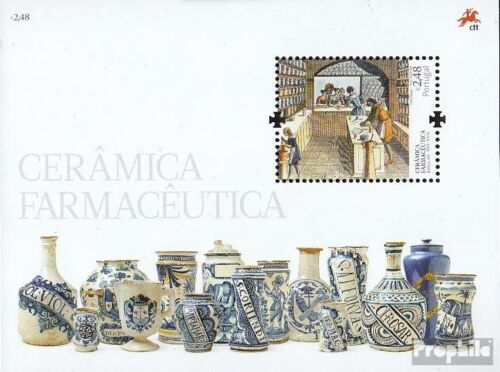 Portugal block273 complete issue fine used cancelled 2008 pharmaceutical Ker