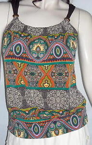 B-Wear-Byer-California-Bright-Bohemian-Style-Top-Size-M-Ships-Free-in-the-USA