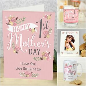 personalised 1st first mother s day cards gifts for new mum mummy