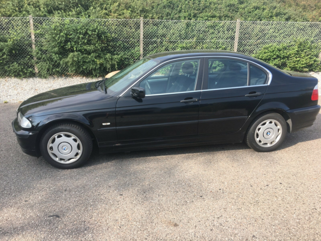 BMW 316i, 1,6, Benzin, 2000, km 139603, sortmetal, ABS,…