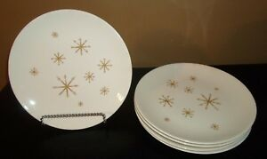 5-Royal-China-Ironstone-STAR-GLOW-10-034-Dinner-Plates