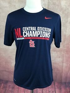 0965991b8609 Nike Dri-Fit MLB St. Louis Cardinals NLCD Champs 2014 Navy Blue T ...