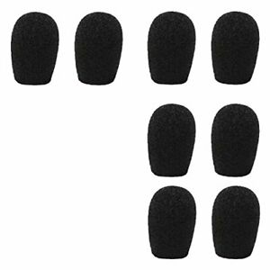 20mm-Headset-amp-Lapel-Lavalier-Microphone-Windscreens-8-Pack