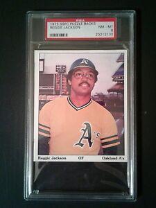 1975-SSPC-Puzzle-Backs-Reggie-Jackson-Baseball-Sports-Memorabilia-PSA-NM-MT-8