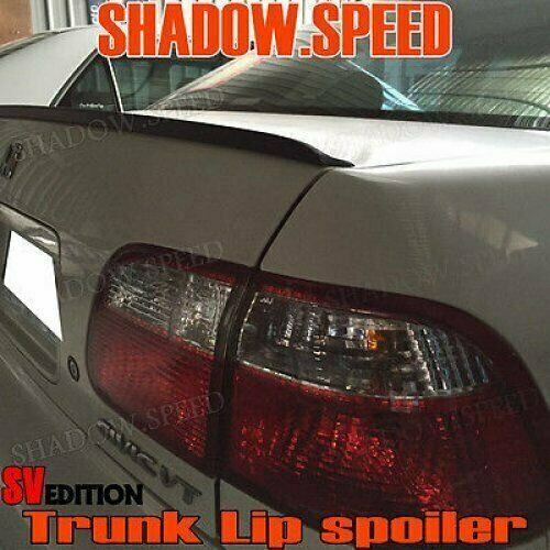 Stock 162 SV Type PUF Rear Trunk Lip Spoiler Wing For Honda Civic 2006-11 Coupe