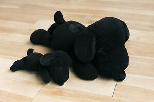 Uniqlo Kaws x Peanuts Black Snoopy Plush Toy Limited edition LARGE street art