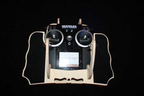 Senderpult für Multiplex SX 9 als Bausatz Birke 5-lagig