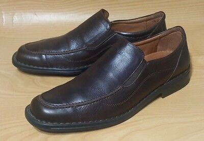 3bc6b128 Josef Seibel Mens Loafers Brown Leather Mens Shoes 11.5 - 12 / 45   eBay