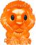 WOOLWORTHS-Disney-Lion-King-Ooshies-Collection-ORANGE-SIMBA thumbnail 1