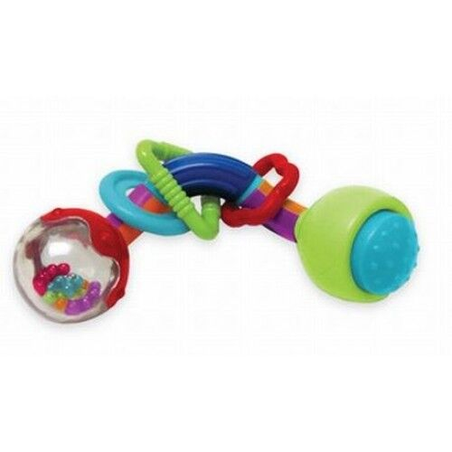 NEW MANHATTAN TOY TWISTY TIME RATTLE//BABY RATTLE