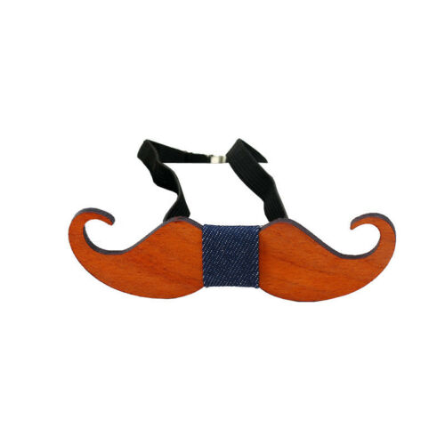 New Men Vintage Business Wooden Hollow Bowtie Wedding Party Bow Tie Fashion Gift
