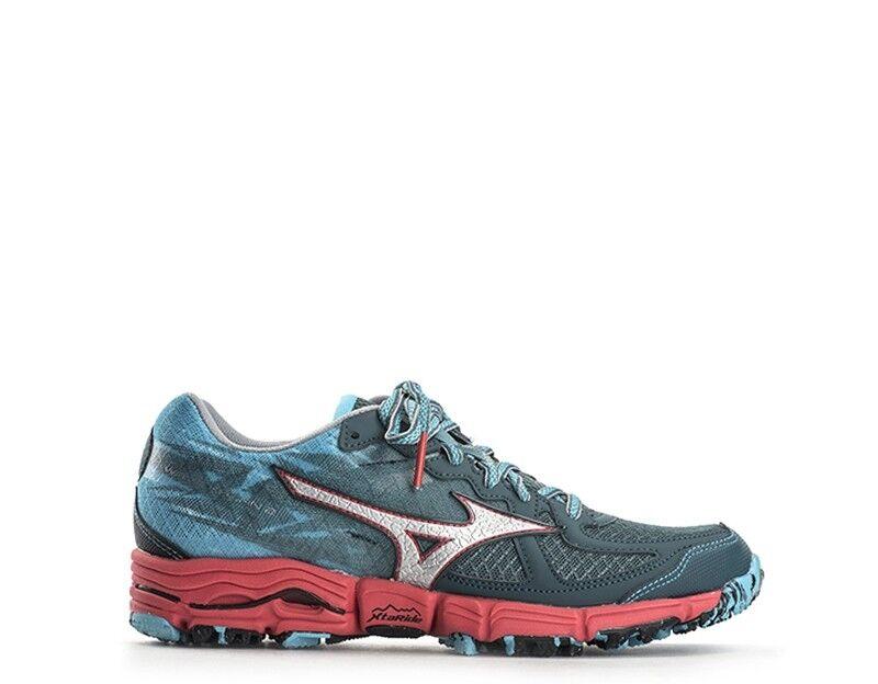 shoes MIZUNO women Running women  AZZURRO red PU,Tessuto J1GK157103