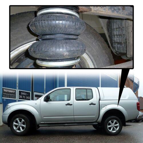 Basis-Kit D40 // D401 ab 2004 Zusatz Luftfederung für Nissan Navara Hinten