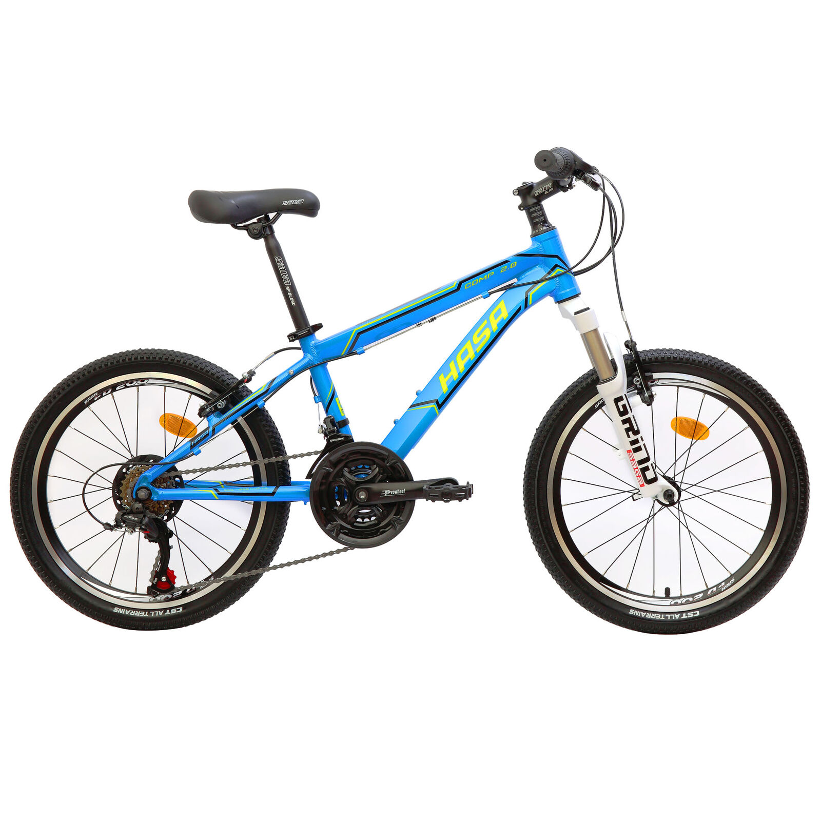 50cm Kids Mountain Bike Crusader 6 Speed Bicycle Boys Front Rear Brakes Durable For Sale Online Ebay