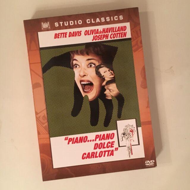 PIANO PIANO DOLCE CARLOTTA RARO DVD STUDIO CLASSICS - BETTE DAVIS DE HAVILLAND