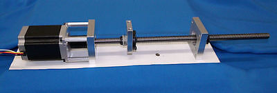 "12"" NoMachine 1/2-10 acme lead screw kit CNC router delrin nut bearing bracket"