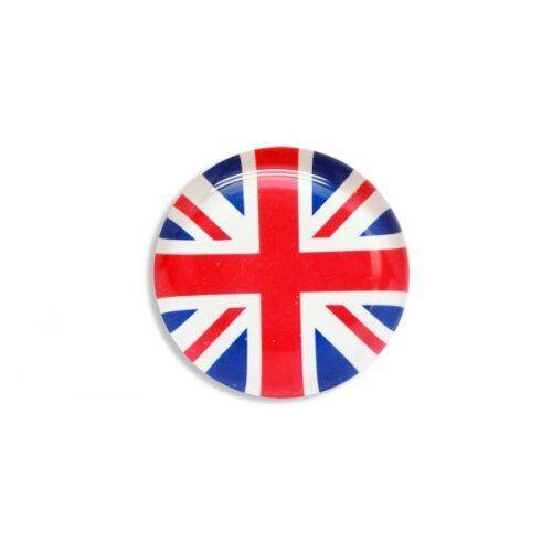 Union Jack British Flag Glass Pebble FRIDGE MAGNET London England GB Souvenirs