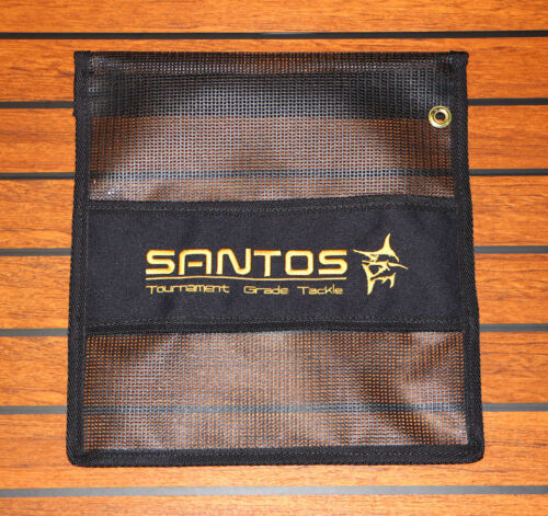 Marlin Tuna Wahoo Dorado Ahi Santos Single Pocket Big Game Trolling Lure Bag