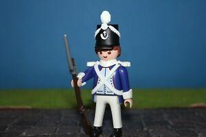 Francais-Soldat-Etat-Parfait-Uniforme-Custom-Napoleon-Playmobil-XX25