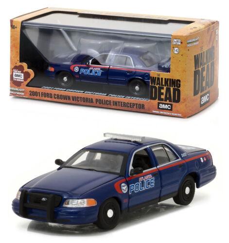 Ford Crown Victoria Police Interceptor The Walking Dead 1:43 GreenLight 86510