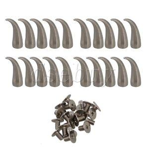 5//100 PCS Flat pearl Acrylic Iron Rivet Studs for DIY Leather//Bag// Clothes Decor
