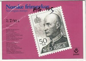 Norway-1992-50k-Mint-MNH-Presentation-Pack-J4063