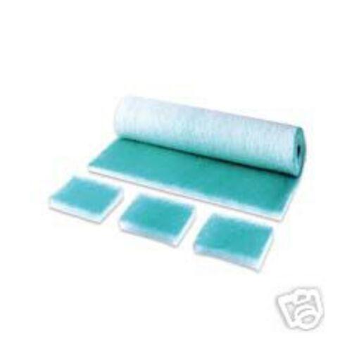 Paint stop verde suelo filtro Filtro maletero lackierkabine 1 papel 0,50mx 20m
