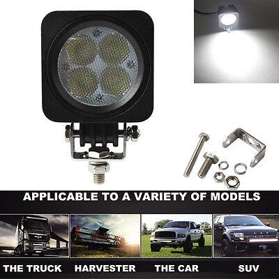 3500LM 40W 4x LED CREE Car Work Lamp Flood Light ATV Truck Jeep Offroad Lamp
