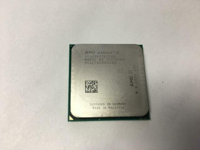 AMD ATHLON II X2 255 3.10GHZ ADX255OCK23GQ SOCKET AM3 AM2+ CPU PROCESSOR