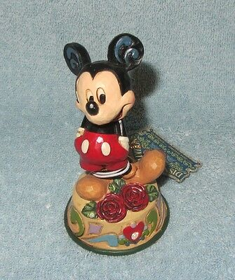 Jim Shore Disney Traditions #4033963 MICKEY MOUSE JUNE BIRTHDAY Enesco NIB  4/""