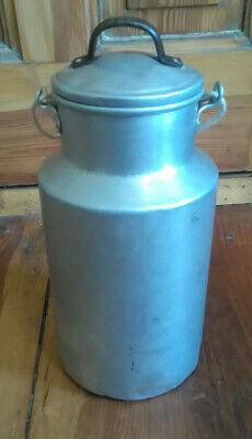 Gefäße Antiquitäten & Kunst Treu Schöne Alte Urige Milchkanne 1,5 Liter Mit Deckel Sehr Schöne Deko Durchsichtig In Sicht