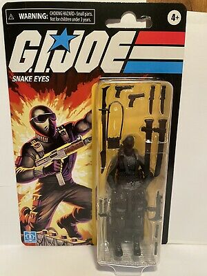 "GI Joe Snake Eyes Walmart  Exclusive action figure 3.75"" hard to find sold out"