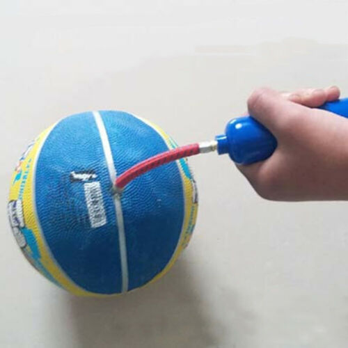 Ballpumpe Fußball Bastekball Pumpe Luftpumpe Schlauch Ballnadel Ventiladapter
