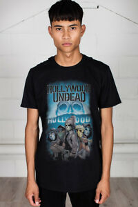 Official-Hollywood-Undead-Crew-Unisex-T-Shirt-Licensed-Merch-Swan-Songs-Day-Dead